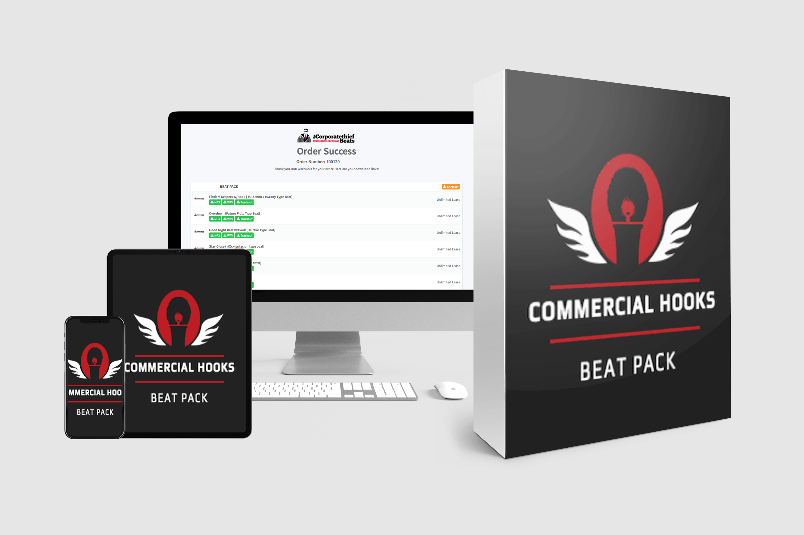 Commercial Hooks Beat Pack